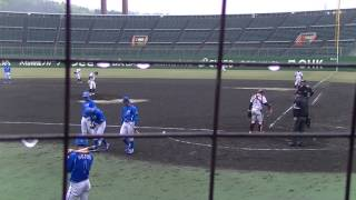 20170417 JABA岡山大会 JR四国対三菱自動車倉敷オーシャンズ 6回裏