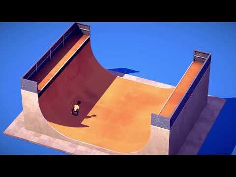 THE RAMP - A minimalist Skateboarding Game