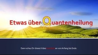 Quantenheilung Kurzanleitung / 2-Punkt-Methode