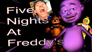 juego FIVE NIGHTS AT FREDDY´S  por primera vez 🥺👉👈