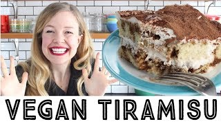 How to Make Vegan Tiramisu - Vegan Tiramisu Recipe