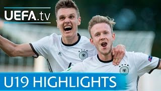 Download Video Under-19 highlights: Germany 3-0 Austria MP3 3GP MP4