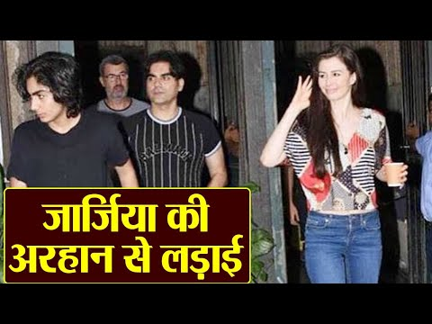 Arbaaz Khan's gf Giorgia Andriani fights with Arhaan Khan; Know the truth | FilmiBeat Mp3