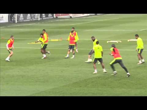El cómico gesto de Benzema al intentar imitar a Marcelo