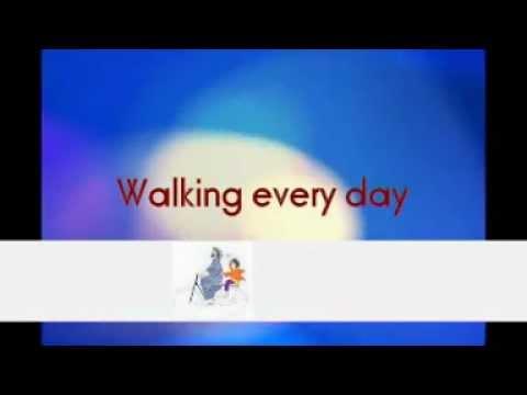 ENGLISH KARAOKE | WALKING WITH JESUS