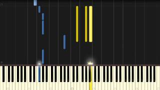 Hurts - Stay [Piano Tutorial] (Synthesia)