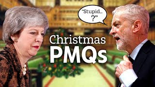 May & Corbyn battle it out in last PMQs before Christmas