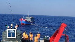 6 ngư dân trở về sau nửa tháng trôi dạt trên biển