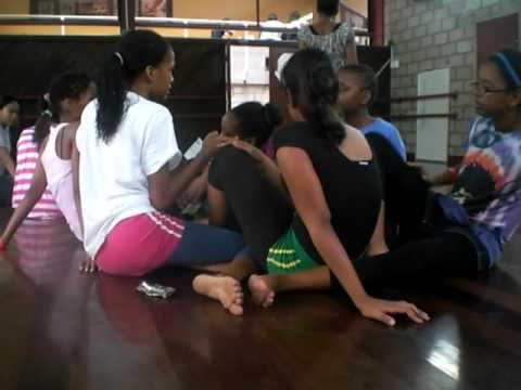 Foolin around in class Pt.2 (Edna Manley Dance Studio)