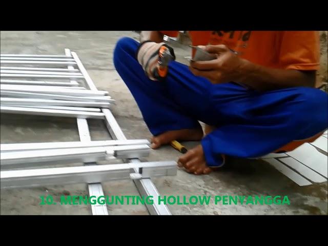 Pagar Rumah Minimalis Kreasi Sendiri Bahan Baja Ringan HOLLOW  Hemat 75% #3/11