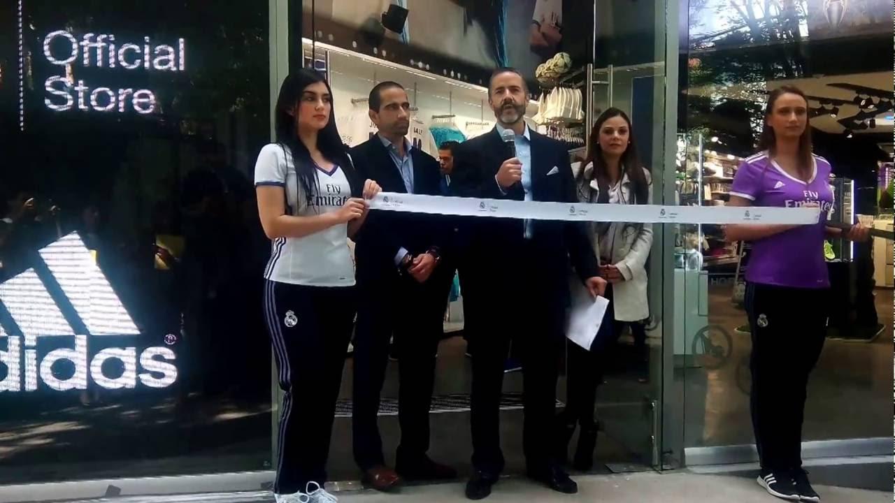 c3cc79b430296 Inauguran tienda REAL MADRID en Mexico - YouTube
