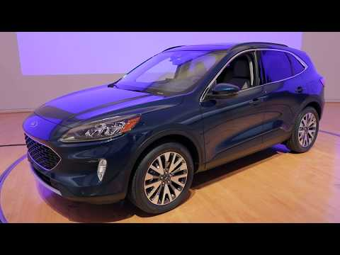2020 Ford Escape *First Look* Video Review