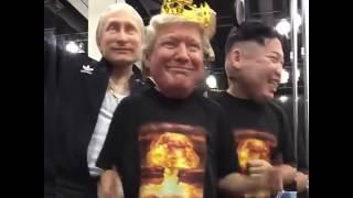Ким Чен Ын, Трамп и Путин в Калифорнии на кастинге « Танцы»