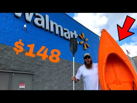 Buying The CHEAPEST Kayak At WALMART (Here's What Happened)