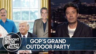 Republican National Convention Moving Outdoors | The Tonight Show
