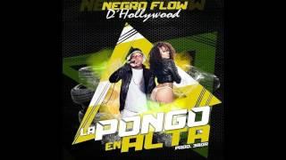 Negro Flow D Hollywood - La Pongo En Alta (Prod. @soy3bor) (2016)
