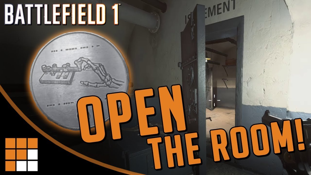 "BATTLEFIELD 2018 REVEAL DATE DISCOVERED + How To Unlock Isolement ""The Room"" Dog Tag"