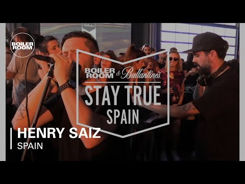 Henry Saiz Boiler Room & Ballantine's Stay True Spain Live Set