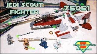 Lego Star Wars Review 75051 Jedi Scout Fighter