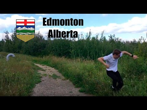 TRAVELLING ACROSS THE COUNTRY Edmonton Vlog