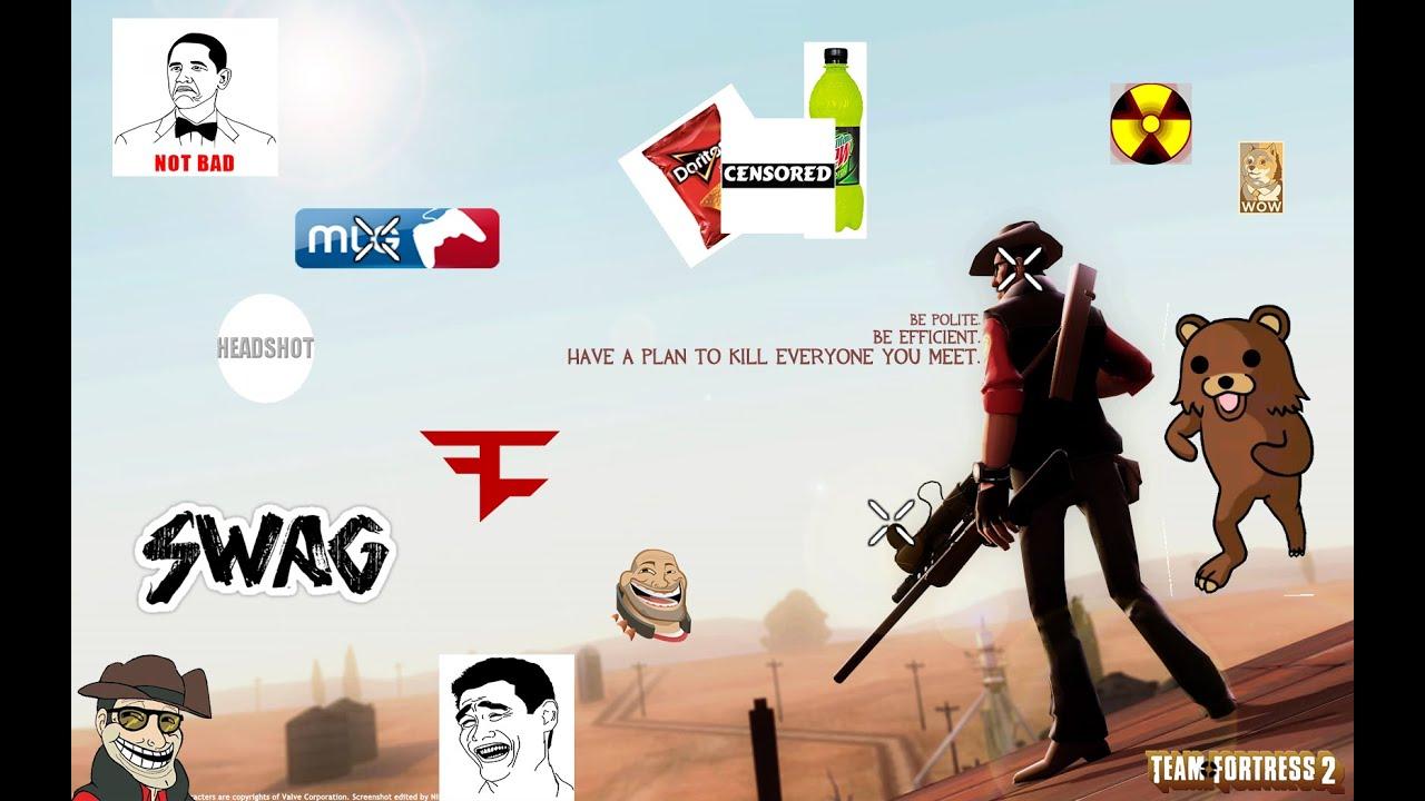 MLG Team Fortress 2 [xX=SNIPER+PRO=Xx ]