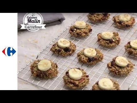 cookies-aux-flocons-d'avoine-et-banane