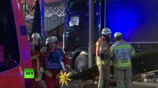 Berlin: images du marché de Noël traversé par un camion fou (Direct du 20.12)(, 2016-12-20T01:01:39.000Z)
