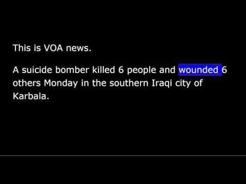 VOA news for Tuesday, November 15th, 2016
