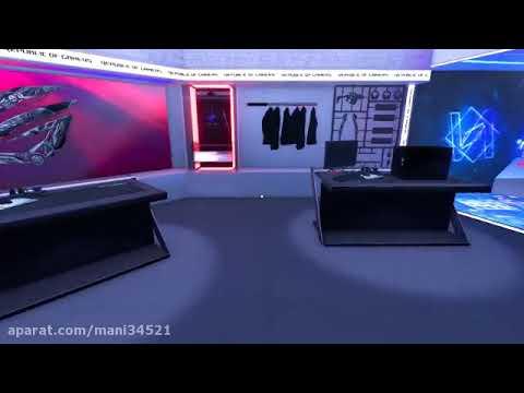 جمع کردن سیستم گیمینگ در بازی PC Building Simulator Republic of Gamers Workshop |
