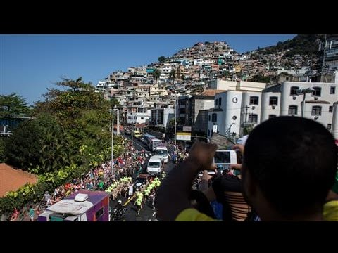 Rio's Hilltop Favelas Seek to Boost Tourism