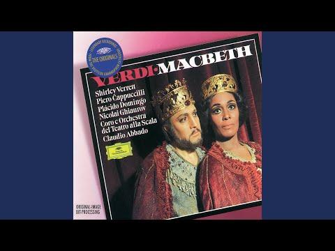 """Verdi: Macbeth / Act 3 - Coro D'Introduzione - Incantesimo: """"Tre Volte Miagola La Gatta In Fregola"""""""