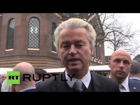 Netherlands: Geert Wilders campaigns for Ukraine referendum 'no' vote