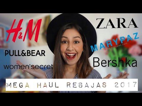 MEGA HAUL REBAJAS 2017: Zara, Pull, Bershka, HyM... | Lucialt786