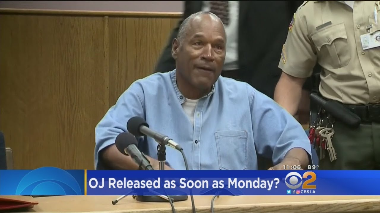 O.J. Simpson Could Be Free As Soon As Monday