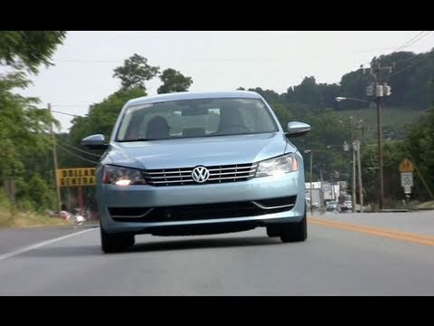 2012 VW Passat review: a bigger better  Americanized German sedan