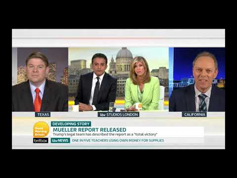 "ITV's ""Good Morning Britain,"" Apr 19, 2019: The Mueller Report"