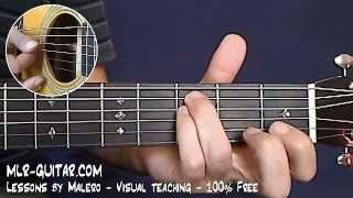 """How to play """"Angie"""" - MLR-Guitar Lesson #2 of 4"""