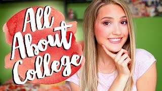 HOW TO GET INTO COLLEGE | My Experience, Tips, & Where I