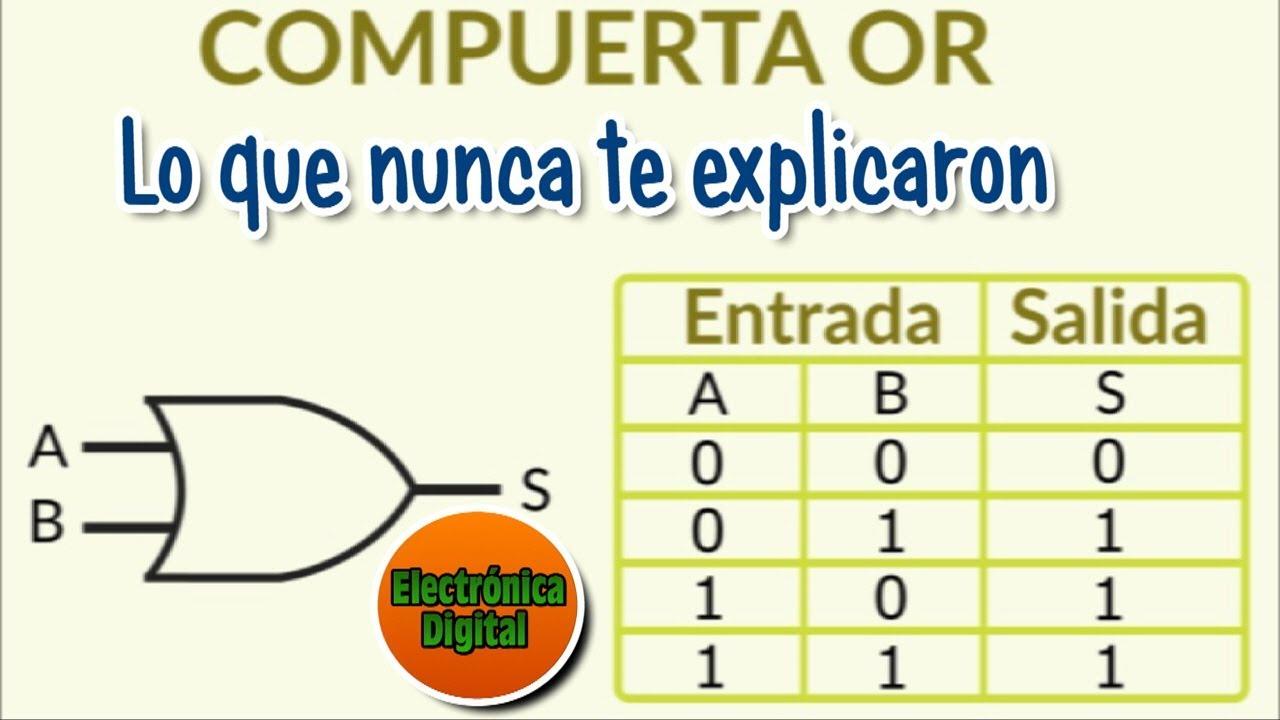 Circuito Integrado Xor : Electronica digital compuerta or lo que nunca te