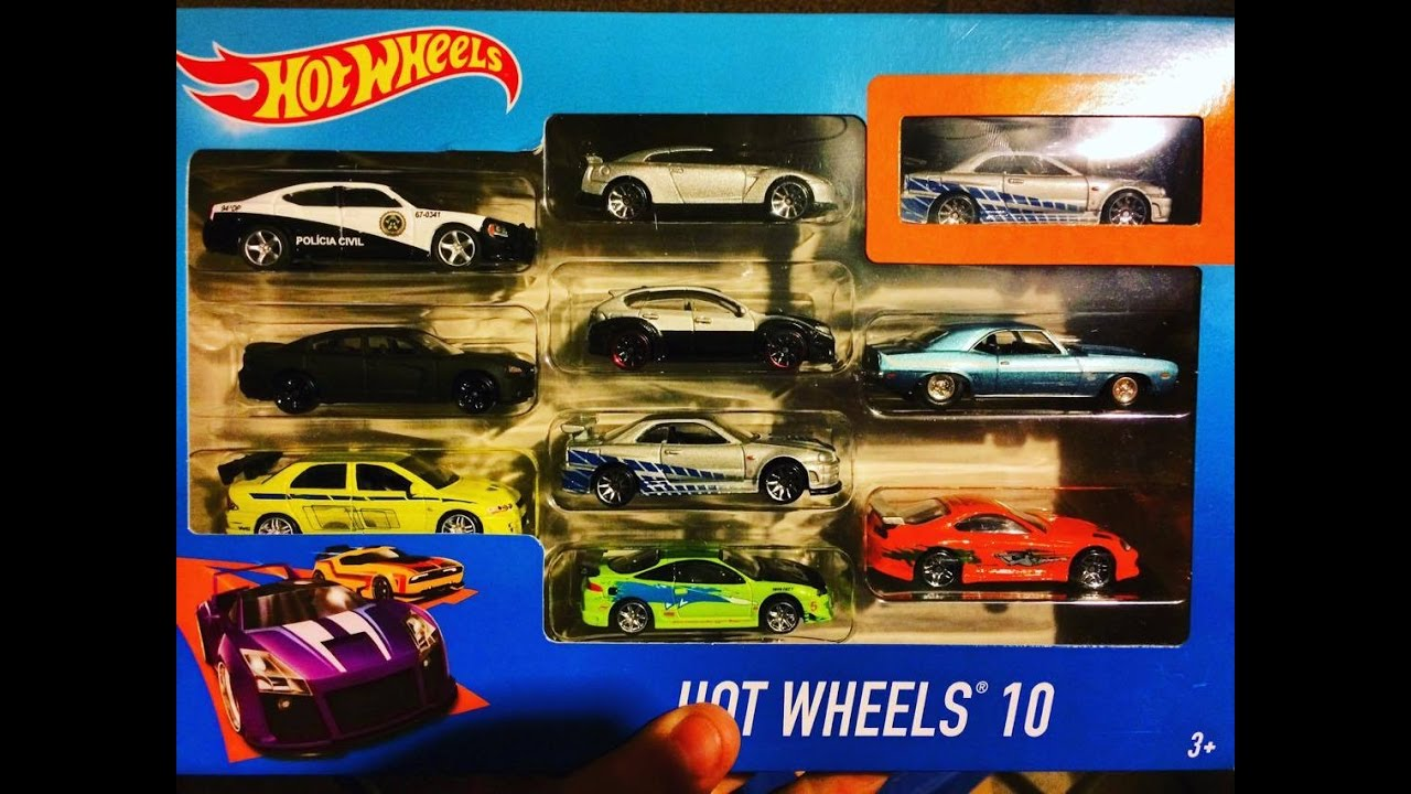 The Fast And The Furious Paul Walker Cars Collection Hot