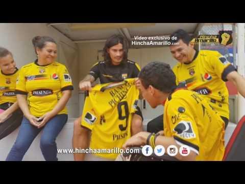 Antes de llegar a Colón, Ismael Blanco tuvo una emotiva despedida en Ecuador