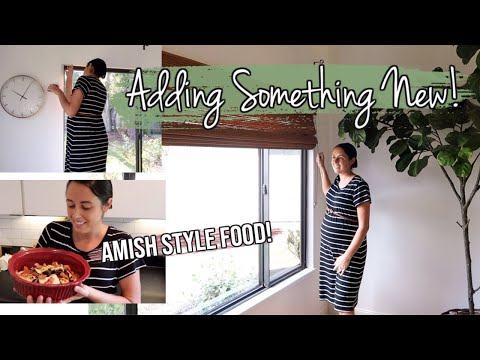 New Home Updates Vlog! | Amish Style Recipes | What's for Dinner?
