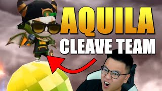 *BUFFED* AQUILA CLEAVE TEAM IS HERE! New Best 4* Strip? | Summoners War