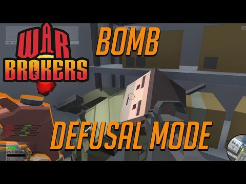 War Brokers.io bomb defusing mode -  I can fly a helicopter -  War brokers gameplay