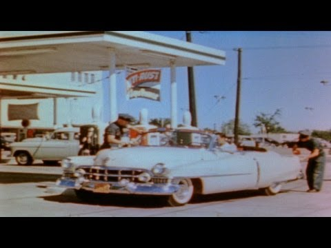 HD Stock Footage Evolution of the Oil Industry, Refineries, Gasoline, Transportation, Automobiles