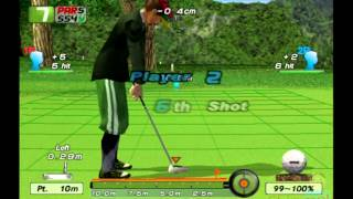 Eagle Eye Golf PS2 Multiplayer Gameplay (505 Games) Playstation 2