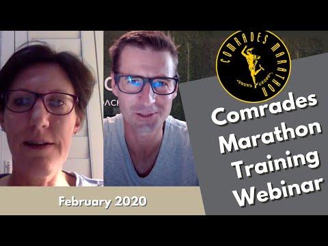 2020 Bonitas Comrades Marathon Training Webinar - February 2020