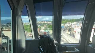 沖縄都市モノレールゆいレール首里ーてだこ浦西延伸区間前面展望