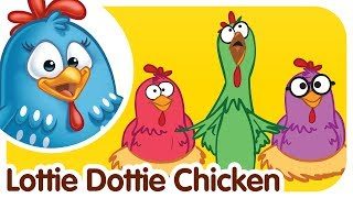 LOTTIE DOTTIE CHICKEN - Gallina Pintadita