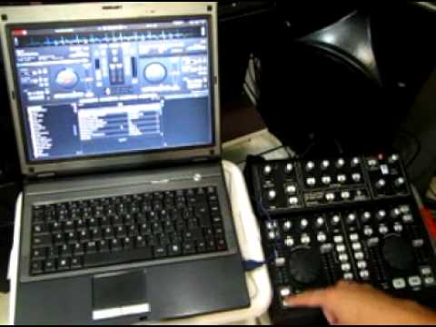 bcd3000 virtual dj mapper